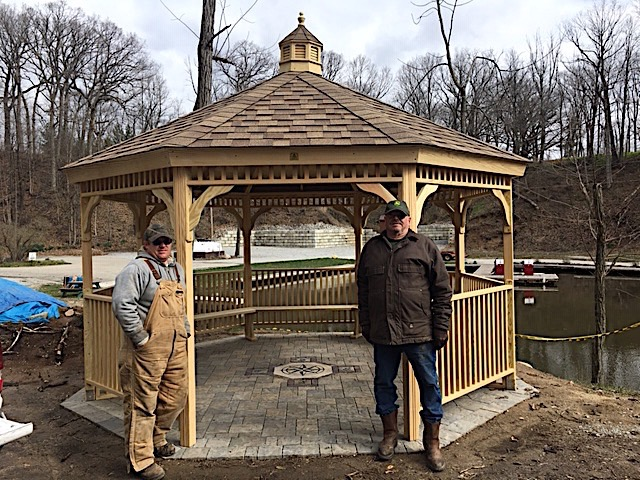 Parks Access Project - Gazebo Construction Helpers